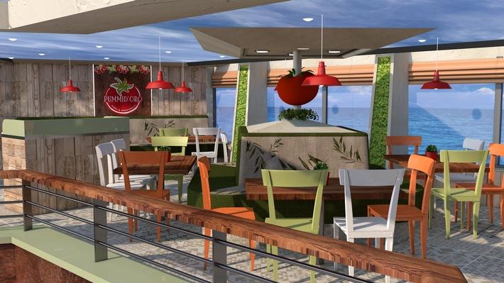 Die Costa Fortuna wird für ihre Rückkehr von Asien nach Europa umgestaltet und erhält viele neue Bereiche in typisch italienischem Design