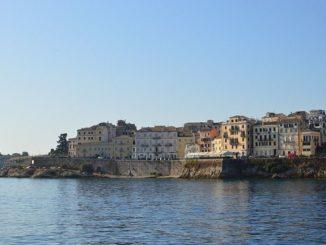 Die schöne Altstadt von Korfuv