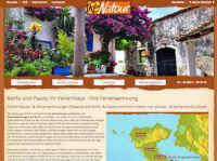 Ferienhäuser auf Korfu mieten