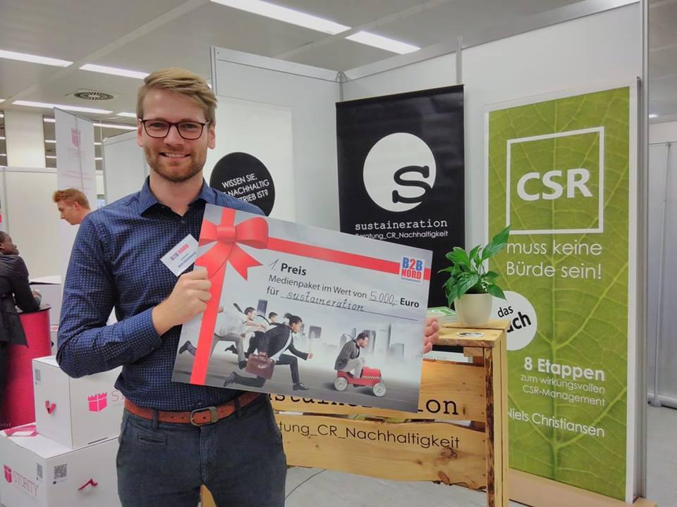 Niels Christiansen erhält den Gründerpreis