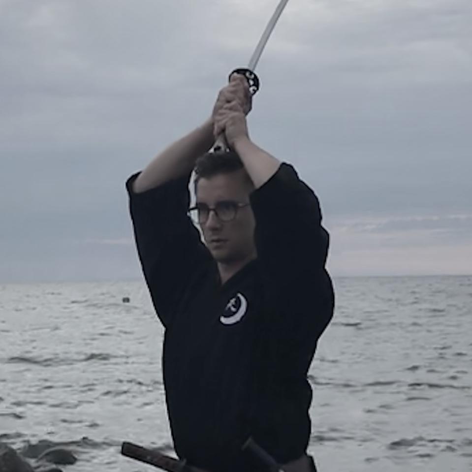 Volle Konzentration im Training und effiziente Technik sind Kernelemente des Mugai Ryu