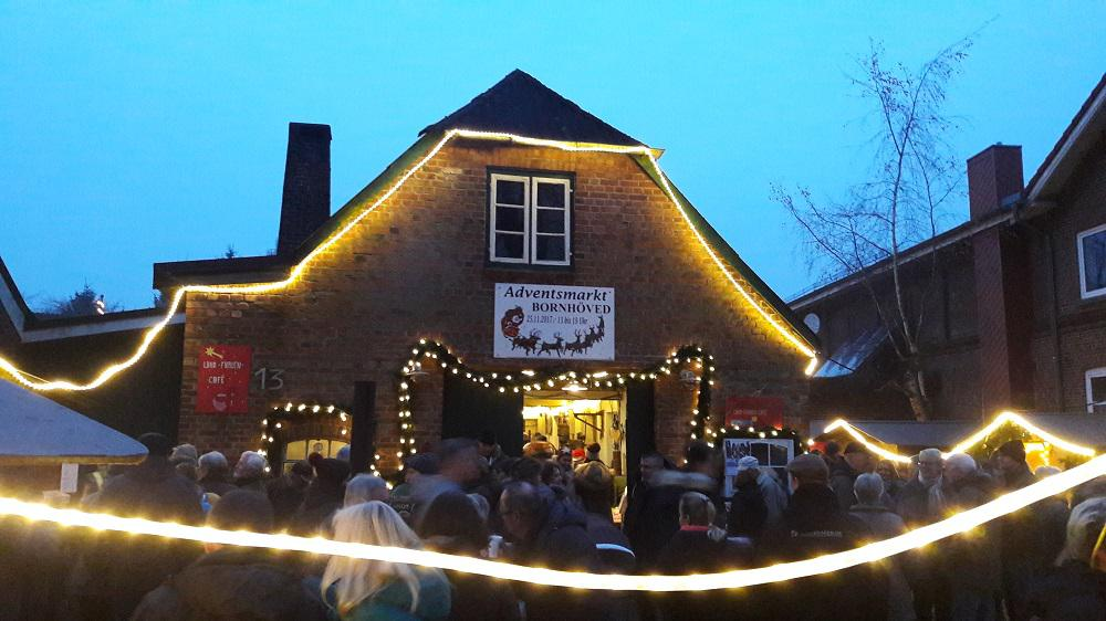 "Adventsmarkt in der ""Alten Schmiede Bornhöved"""