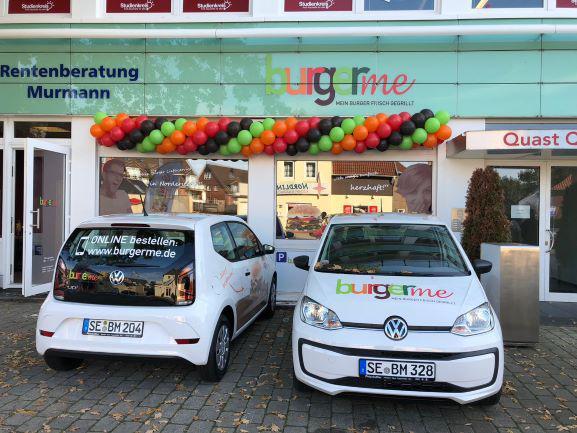 Der neue burgerme-Store in Norderstedt