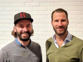 Inhaber Hannes Heidenreich (li.) mit neuem Geschäftsführer des Hamburger Büros Niko Maronn (re.)