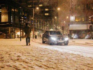 Arktische Temperaturen in Hamburg