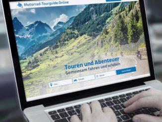 Auf Motorrad-Tourguide.Online kann man Motorradtouren anbieten oder suchen.