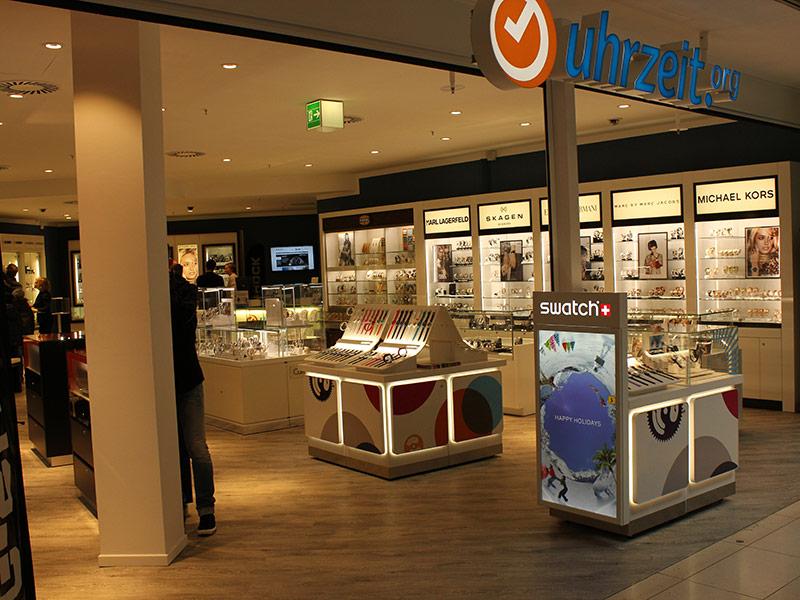 Das Ladengeschäft von uhrzeit.org