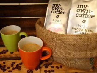 Kaffeesäckchen mit Premiumkaffeebohnen my-own-coffee