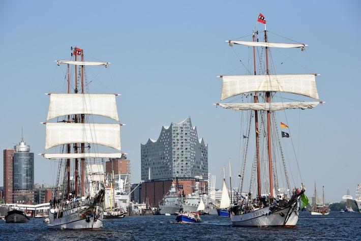 Vom 10. – 12.05. Hafengeburtstag: Programm mit Musik, Schlepperballett und Windjammern