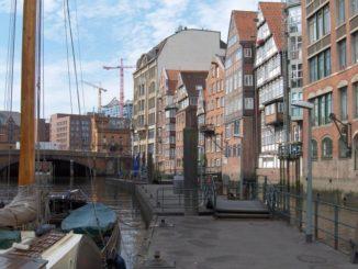 Hamburg Deichstraße - einer der letzten erhaltenen Straßenzüge der Stadt
