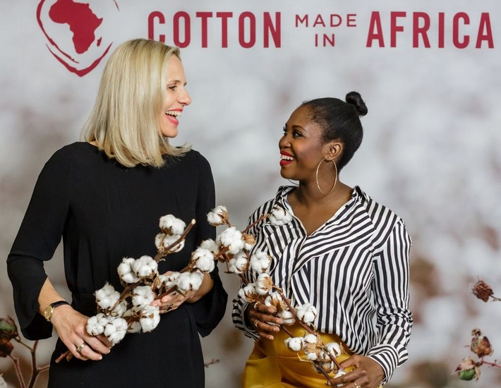 Tina Stridde, MD CmiA, and Motsi Mabuse, CmiA Ambassador