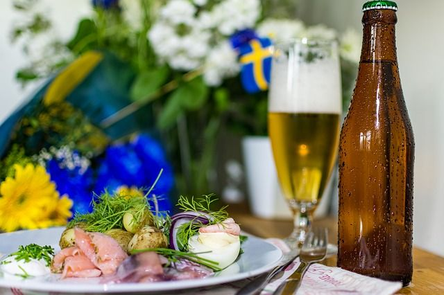 Auch die Skandinavier können Matjes
