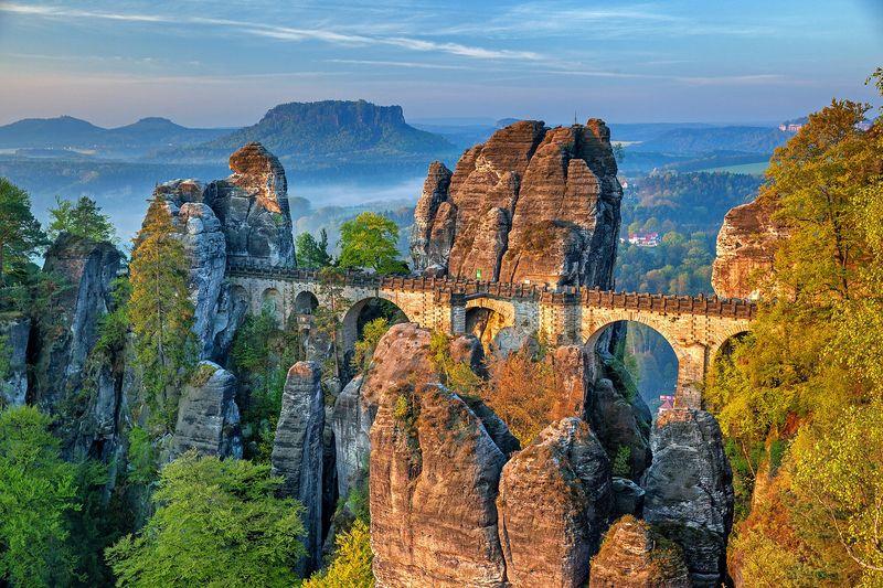 Die Sächsische Schweiz ist eine Reise wert