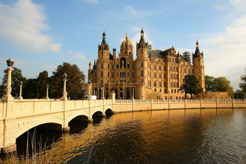 Ein historisch wertvolles architektonisches Kleinod - das Schweriner Schloss