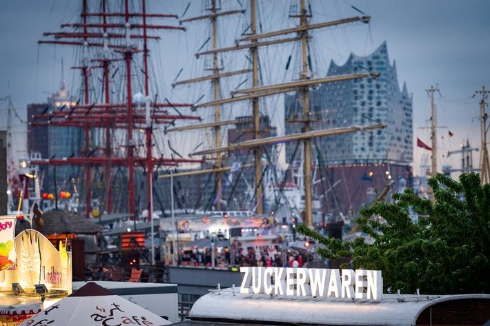 Landgang beim Hafengeburtstag Hamburg