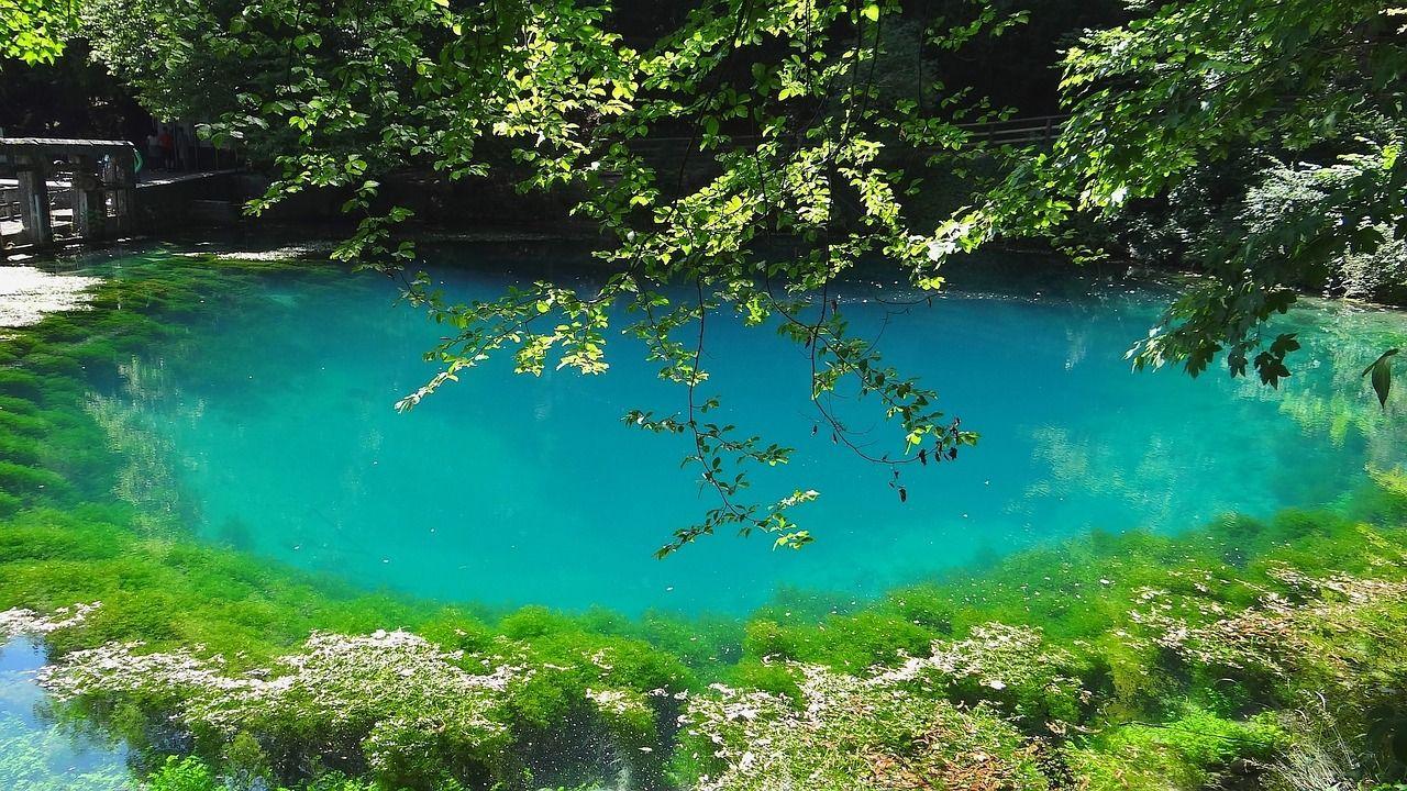 Natur pur über die Ostertage - Blautopf Pixabay