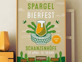 Spargel und Bier - das passt !