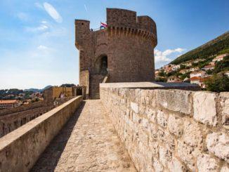Die Minceta-Festung, Drehort von