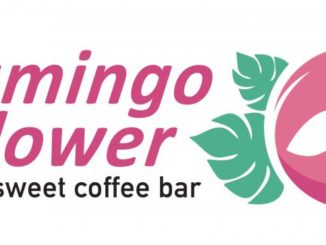 Flamingo Flower Sweet Coffee Bar