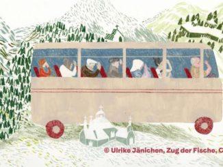 Illustration von Ulrike Jänichen, der ersten Preisträgerin des Hamburger Bilderbuchpreises
