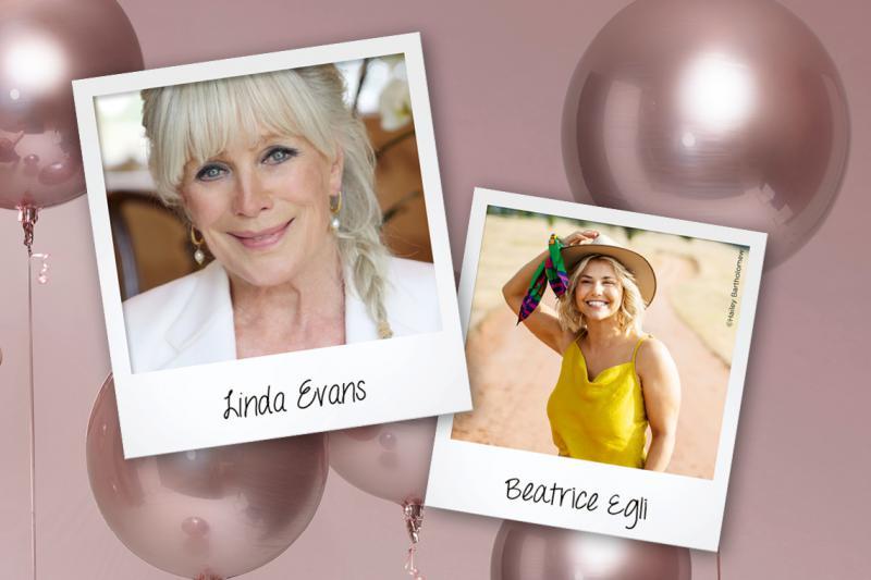 Linda Evans und Beatrice Egli live