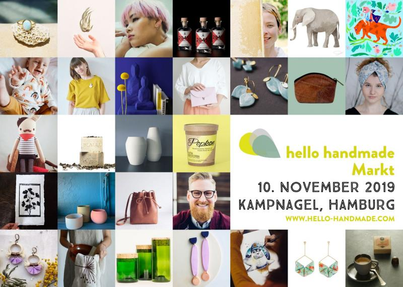 5000 Fans von Handgemachten werden zum 10. hello handmade Markt erwartet.
