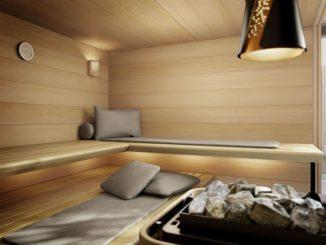 Ausgezeichnet komfortabel - und hochfunktional: MOLLIS, die Kissen udn Matten für die Sauna
