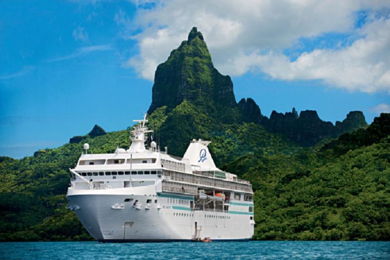 Das bestbewerteste Luxuskreuzfahrtschiff im Südpazifik