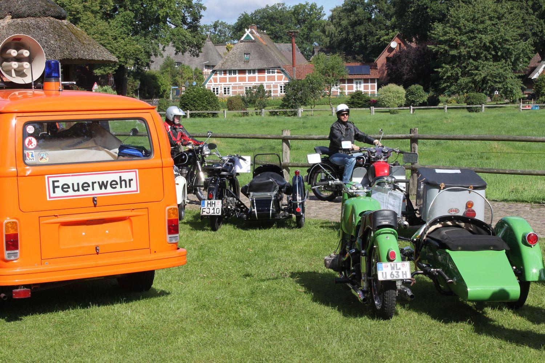 Zweirad Oldtimer Treffen in Marxen 11.8.19 - Bild FLMK (002)