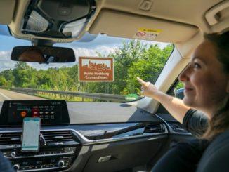 Autobahnfahren wird zum unterhaltsamen Erlebnis