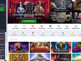 Screenshot Online-Casino