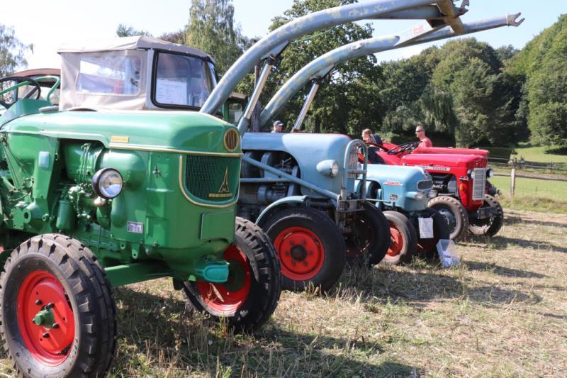 Traktorentreffen am 7./8.9. im Freilichtmuseum am Kiekeberg