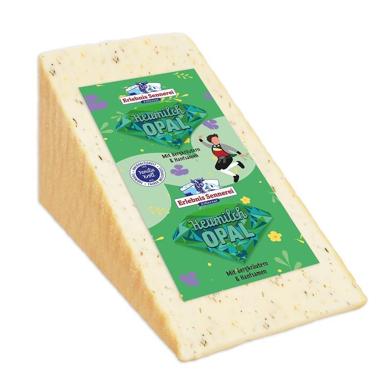 Anuga-Innovationspreis für österreichischen Heumilch-Käse mit Hanfsamen und Bergkräutern