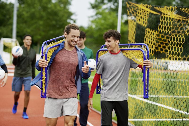 Kostenlose Ausstattung für Sportvereine