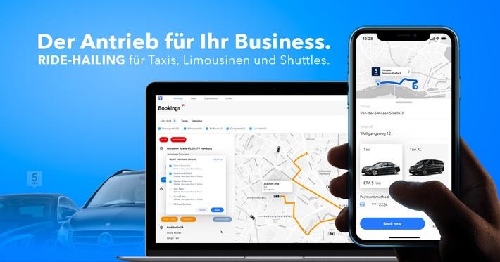 Kundenerwartungen übertreffen mit White Label Taxi-Apps und automatisierter Disposition