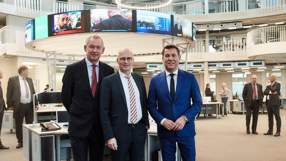 Lutz Marmor, Peter Tschentscher, Jens Riewa