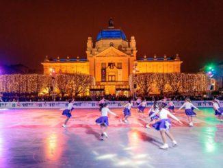 Im Eispark von Zagreb, Foto: Julien Duval/ZTB