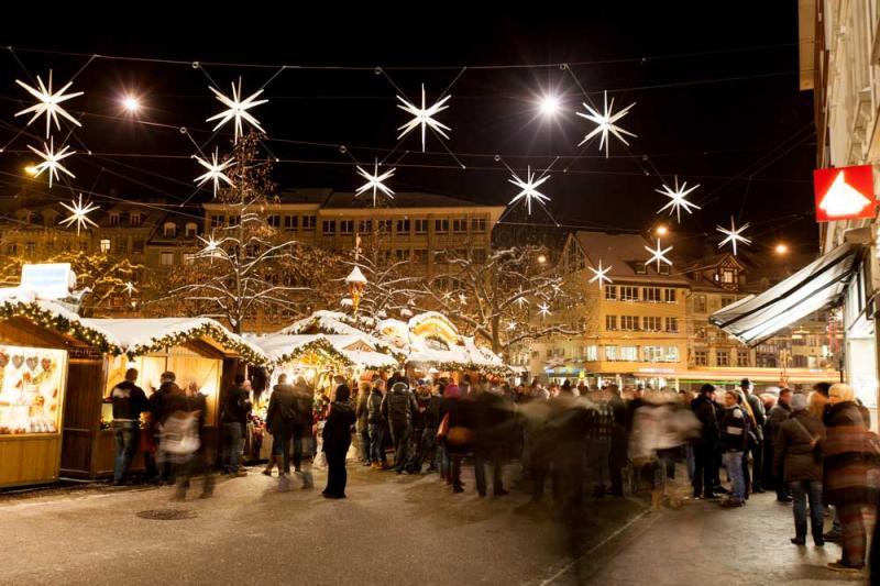 Sternenstadt, Weihnachtsmarkt © St.Gallen-Bodensee Tourismus