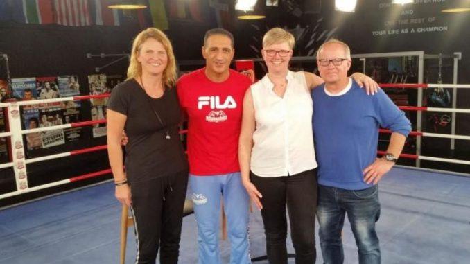 Sylvia Wehde, Ismail Özen-Otto, Ramona Findeisen und Maik Findeisen