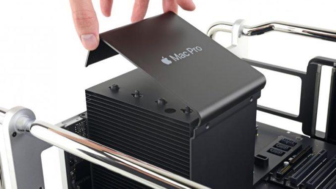 Gute Grundvoraussetzungen für eine Reparatur: Der Mac Pro ist modular aufgebaut.