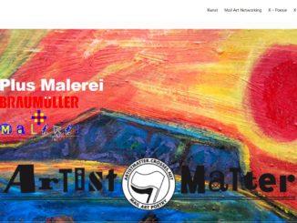 Screenshot Website Braumüller