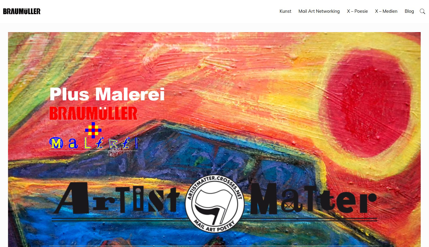 Screenshot Website Braumüller