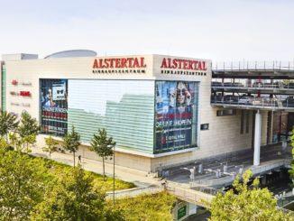 Alstertal Einkaufs-Zentrum (AEZ) Aussenansicht