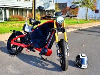 Das Elektromotorrad eROCKIT.