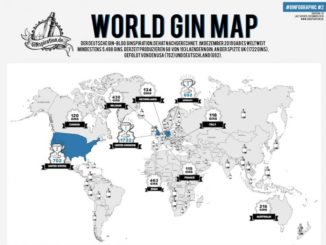 GINspiration World Gin Map