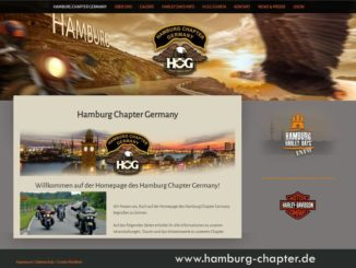Webrelaunch bei Hamburg Chapter Germany