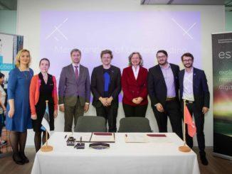 Das Artificial Intelligence Center Hamburg (ARIC) und die estnische Wirtschaftsförderung Enterprise Estonia wollen in den Bereichen künstliche Intelligenz (KI) und Digitalisierung enger zusammenarbeiten