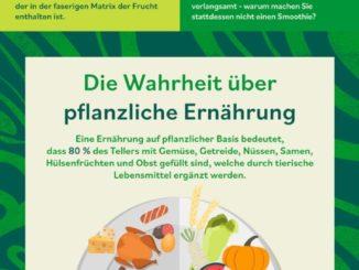 Infografik zur aktuellen Rama-Studie zu Lebensmittel-Mythen