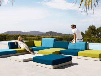 Modulare Möbelsysteme gehören zu den Outdoor Trends 2020