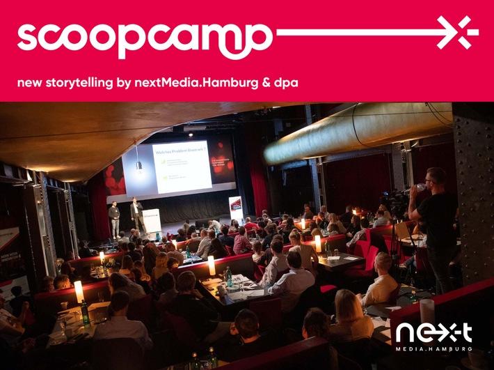Hamburgs scoopcamp 2020: Internationale Größen der Digital- und Medienbranche kommen